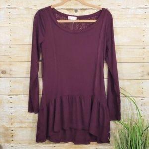 5/$35!  Altar'd State peplum blouse B9